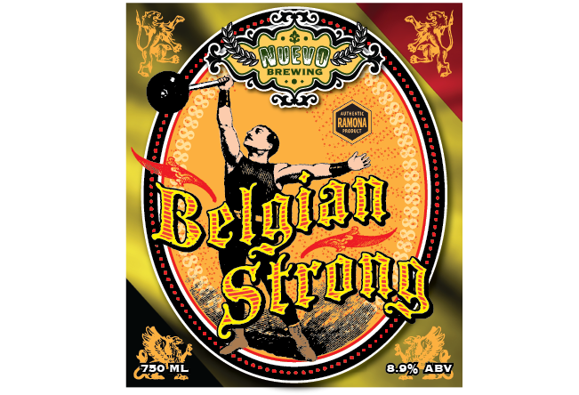 Belgian Strong Label