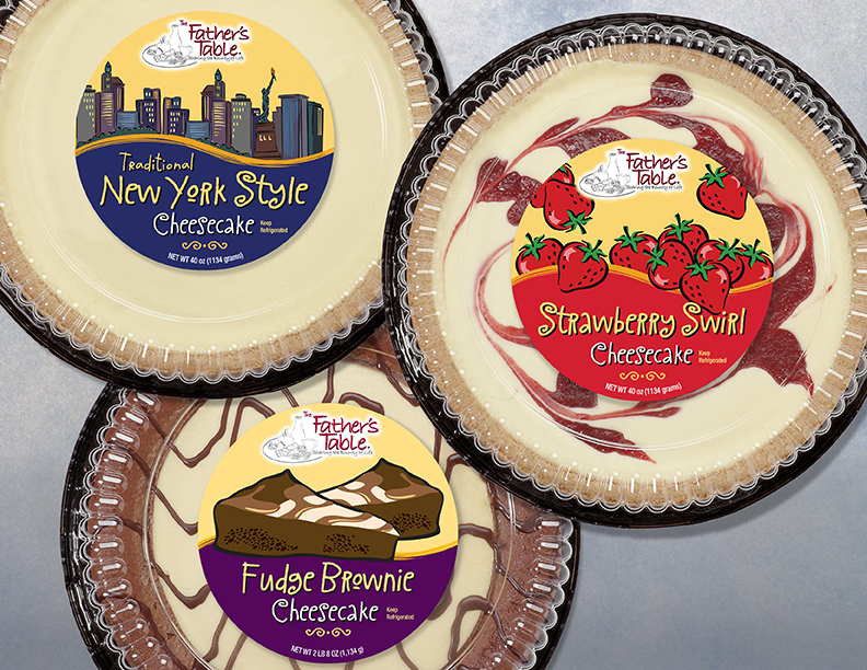 Fathers Table Cheesecakes