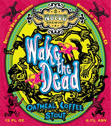 Nuevo Wake the Dead label