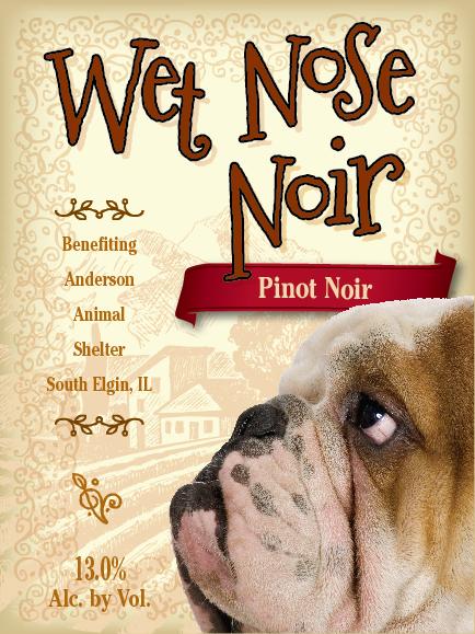 Wet Nose Noir label